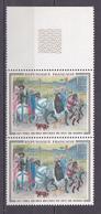 N° 1457 Oeuvres D'Art: Les Très Riches Heures Du Duc De Berry: Une Paire De 2 Timbres Neuf Sans Charnière - Neufs