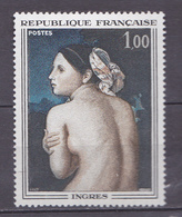 N° 1530 Oeuvres D'Art: La Baigneuse De Dominique Ingres: Un Timbre Neuf Sans Charnière - Unused Stamps