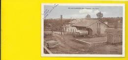 St VICTURNIEN La Gare Camion Minoterie Dory (Combier) Haute Vienne (87) - Autres Communes