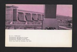 MOZAMBIQUE Qsl Radio Postcard DAM CUNENE 1960years AFRICA AFRIKA MOÇAMBIQUE Z1 - Mozambique