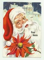 BABBO NATALE 1974 VIAGGIATA FG - Père-Noël