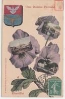 CPA- Une Bonne Pensée D' Einville -1909 -dép54-2scans - France