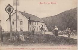 88 - COL DU BONHOMME - POTEAU FRONTIERE - DOUANIERS - Douane