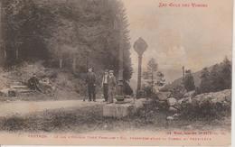 88 - VENTRON - POTEAU FRONTIERE - DOUANIERS - COL D'ODEREN - Douane