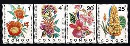Rep. Congo 1971 OBP/COB 778/781** MNH Cat. 40,00 - Nuovi