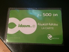 LA CARTE IDOOM 500 DA-RECHARGE ADSL - Algeria