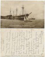 AK Schiff, SMS Adria Und SMS Feuerspeier, Artillerie Schulschiffe K.u.k. Marine - Warships