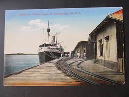 AK Muelle De Corinto Nicaragua Schiff  Ca.1920  ///  D*32148 - Nicaragua