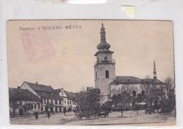 POZDRAV Z NOVEHO MESTA VOYAGE CIRCA 1919. ESLOVAQUIA SLOVAKIA.-BLEUP - Slowakije