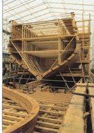 """Bateaux Voilier Reconstruction De La Frégate """"Hermione"""" Chantier Marine - Sailing Vessels"""