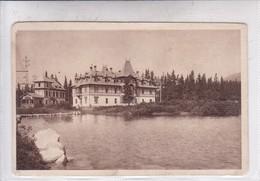 VYSOKE TATRY. STRBSKE PLESO: DOM JISKRY Z BRANDYSA. FOT A CHYTIL PRAHA. CIRCA 1920's. ESLOVAQUIA SLOVAKIA.-BLEUP - Slowakije