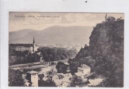 PODMOKLY. DECIN. POSTYRSKA STENA. ZAMEK. SKOPAL & KLOUDA. CIRCULEE CIRCA 1900's. REPUBLICA CHECA CZECH REPUBLIC.-BLEUP - Tschechische Republik