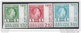 MONACO 1985 SERIE  N°1456 A N° 1458 - 3 TP NEUFS** - Unused Stamps