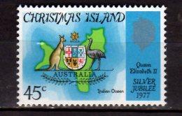 1977 Christmas Islands -25 Years Of Elisabeth II Coronation - MNH** MI  85  (hj16.1) - Christmas Island