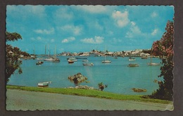 Hamilton Harbour From Red Hole In Paget, Bermuda - Unused - Bermuda