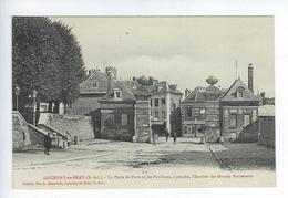 CPA Gournay En Bray La Porte De Paris Et Les Pavillons - Gournay-en-Bray