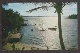 Water Skiing In Paget, Bermuda - Unused - Bermuda