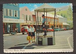 Heyl's Corner With Traffic Policeman, Hamilton, Bermuda - Uunsed - Bermuda