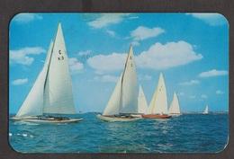 Sailboats Racing In The Great Sound, Bermuda - Used - Bermuda