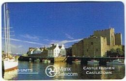 Isle Of Man - 5IOMC, Castle Rushen, 20U, 10,742ex, 1989, Used - Isla De Man