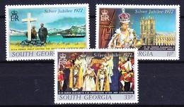 FALKLAND ISLAND DEPENDENCIES - GEORGIE DU SUD 19777 YT N° 56 à 58 ** - Géorgie Du Sud