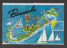 Postcard Folder With Several Views Of Bermuda - Unused - Bermuda