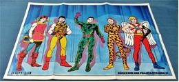 Musik Poster  -  Gruppe Extrabreit  -  Rückkehr Der Fantastischen 5!  -  Ca. 1982 - Plakate & Poster