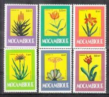 Mocambique 1985**, Heilpflanzen, Sukkulenten / Mozambique 1985, MNH, Medical Plants, Succulents - Sukkulenten