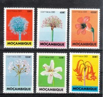 Mocambique 1988**, Blumen, Sukkulenten / Mozambique 1988, MNH, Flowers, Succulents - Sukkulenten