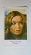 AV451.18  Marina WLADY  Actress  - Calendrier De Poche  - Hongrie  -Pocket Calendar  -Hungary  1978  Cinema - Calendars