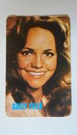 AV451.20  Sally FIELD- Calendrier De Poche  - Hongrie  -Pocket Calendar  -Hungary  1984 Cinema - Calendars