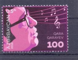 2018. Azerbaijan, Qara Garayev, Composer, 1v, Mint/** - Azerbaïdjan