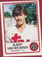 Panini Football Voetbal 86 1986 FC Royal Antwerp RAFC Club Autocollant Sticker Nr. 31 Albert Van Den Bergh - Sport