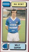Panini Football 83 Voetbal Belgie Belgique 1983 Sticker AA KAA Gent La Gantoise Nr. 122 Willy Quipor - Sport