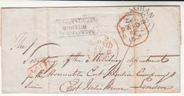 Ireland / County Monaghan / Late Mail / London / East India Company - Non Classificati