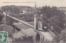 BESSIERES - Le Pont Suspendu Sur Le Tarn - Altri Comuni