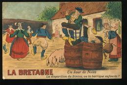 La Bretagne Un Jour De Noce La Disparation Du Biniou Ou La Barrique Enfoncée Humoristique Artaud Nozais - Bretagne