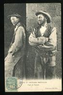 Moeurs Et Coutumes Bretonnes Types De Paysans 1905 ND - Bretagne