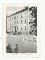 Cp, Hôtel & Restaurants , HOTEL VICTORIA , Allemagne , FREIBURG I. Brsg. , Vierge - Hotels & Restaurants