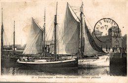 DUNKERQUE BASSIN DU COMMERCE -bateaux Pecheurs - Dunkerque