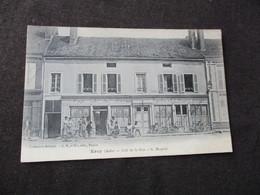 * ERVY  -  CAFE DE LA PAIX  + CYCLES MAUPLOT - Ervy-le-Chatel
