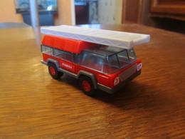CC90 Mac Donald, Copie Lego, Camion De Pompier, 2016, 10,5 Cm - Auto's, Vrachtwagens, Bussen