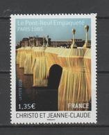 """FRANCE / 2009 / Y&T N° 4369 ** : Pont-Neuf (""""Emballage"""" Par Christo) - Gomme D'origine Intacte - Ungebraucht"""