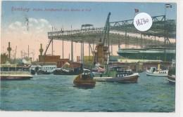 CPA - 18230 -Allemagne - Hamburg - Hafen - Schiffswerft Von Blohm Und Voss - Mitte