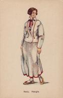 Cpa,ESTONIE,NEIU.HARGLA,femme  De Luxe Du Passé,eesti Rahva Muuseumi Pildikirjastus,girl. Parish Of Hargla,rare - Estland