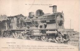 144 Les Locomotives Françaises (Est) Machine N°3855 à Surchauffeur Schmidt Compound En 1911-1912 - Matériel