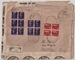 Trieste, 1946, 126 Lira , Affrancature Grande ! Rare ! , #8983 - 7. Triest