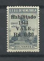 VENEZUELA   YVERT AEREO   177   MH  * - Venezuela