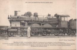 159 Les Locomotives Françaises (Est) Machine N°3195 Avertisseur De Signaux Trompe Electro Motrice 1910 1911 - Matériel