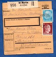 Allemagne  -  Colis Postal  -  Départ  St Martin  B Littai  --  05/4/1942 - Storia Postale